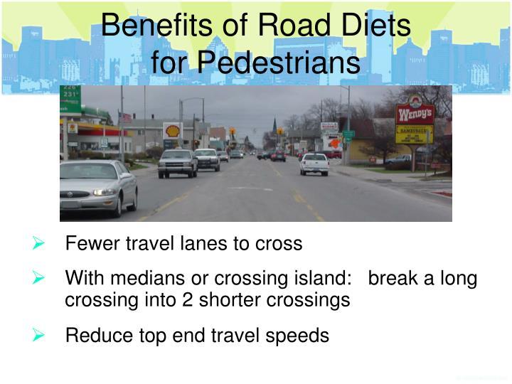 Benefits of Road Diets