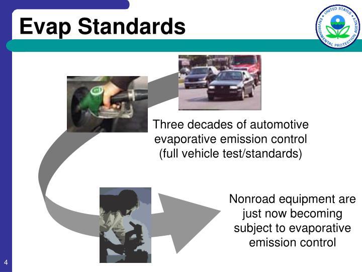 Evap Standards