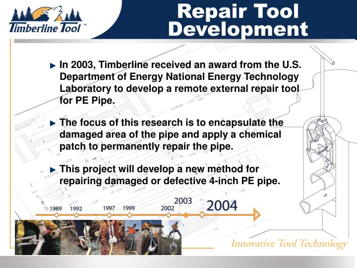 Repair Tool Development