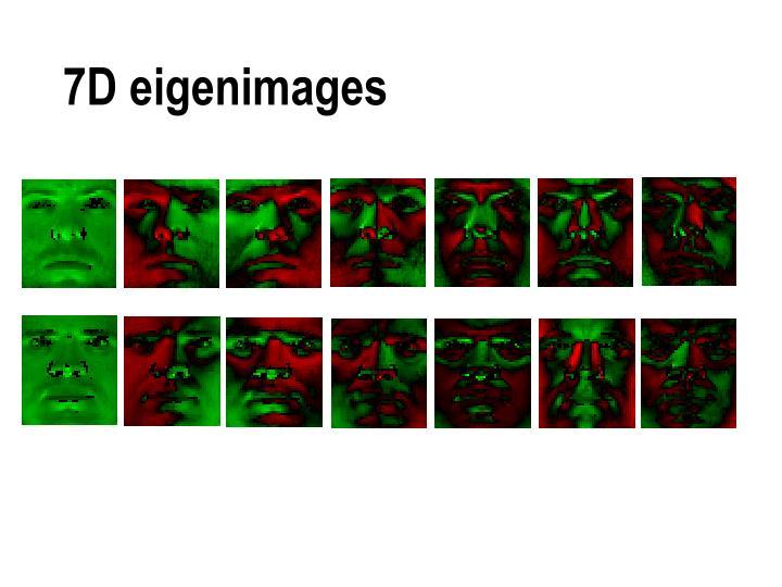 7D eigenimages