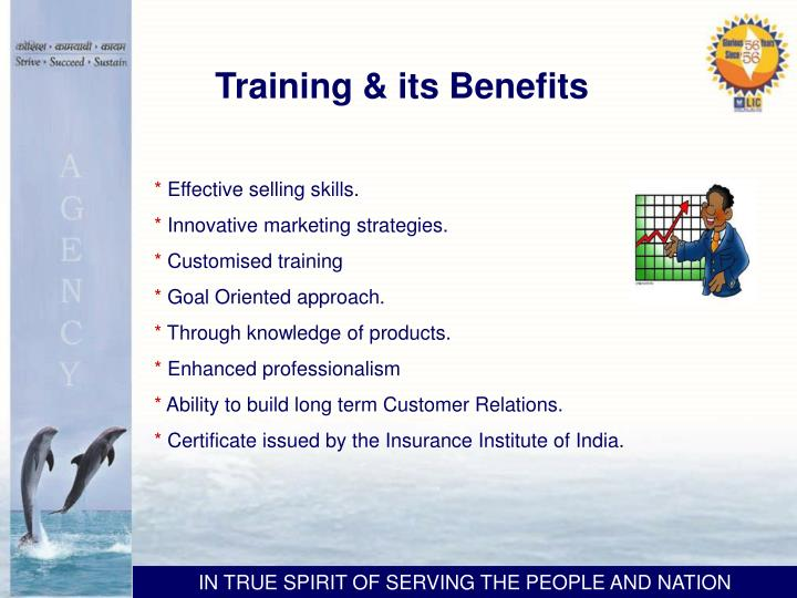 Training & its Benefits