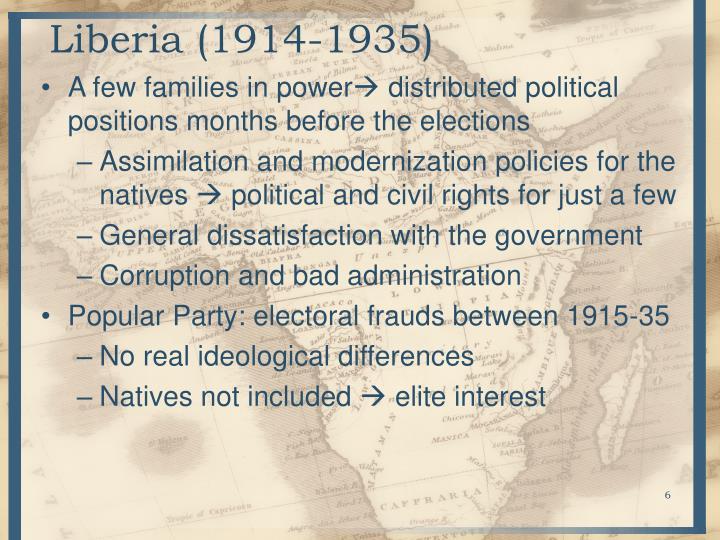 Liberia (1914-1935)