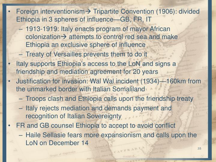 Foreign interventionism