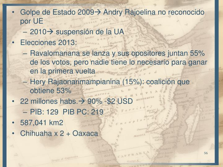 Golpe de Estado 2009