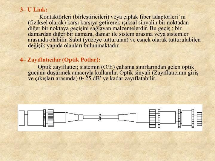 3 U Link: