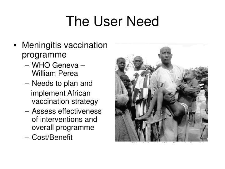 The User Need