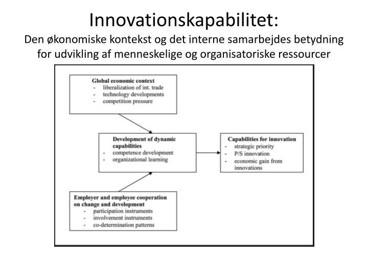 Innovationskapabilitet: