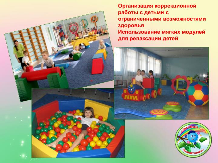 Организация коррекционной работы с детьми с ограниченными возможностями здоровья