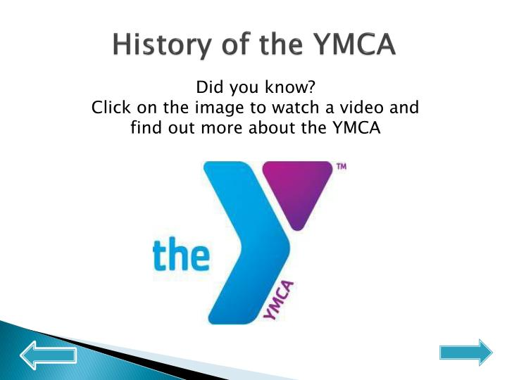 History of the YMCA