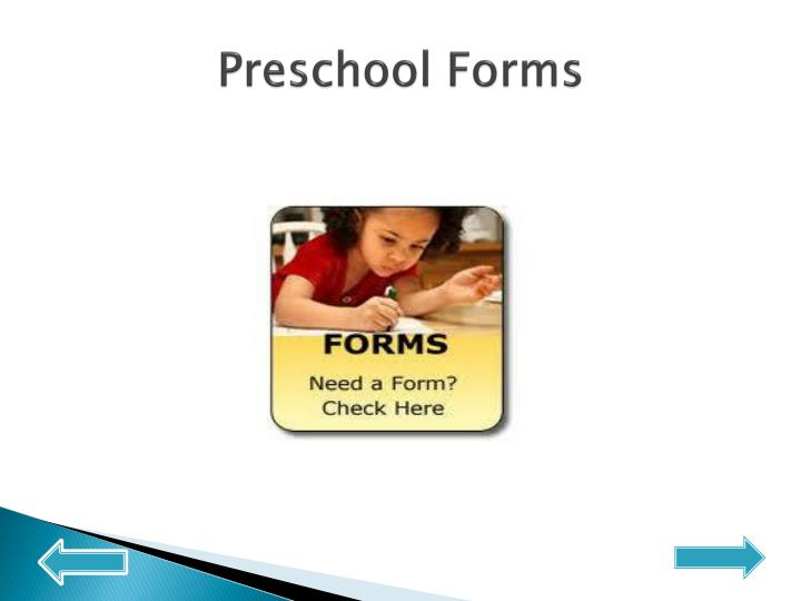 Preschool Forms