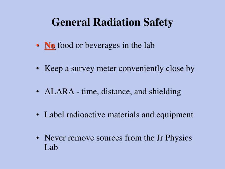 General Radiation Safety