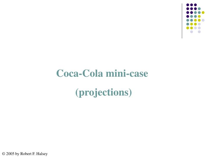 Coca-Cola mini-case