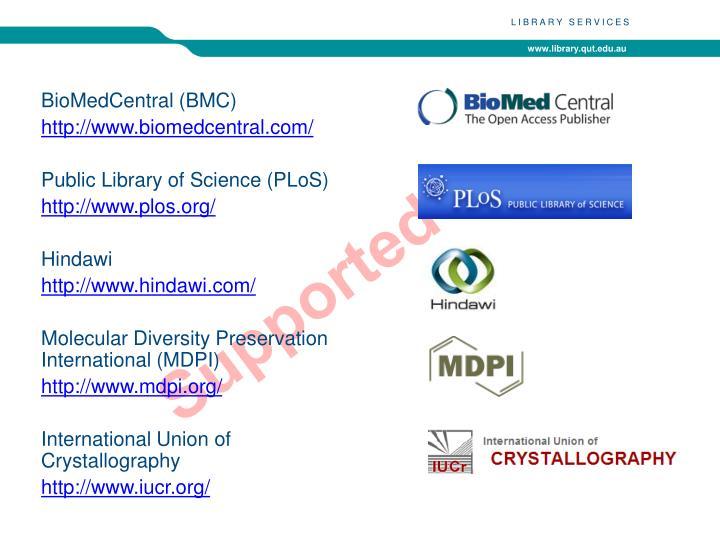 BioMedCentral (BMC)