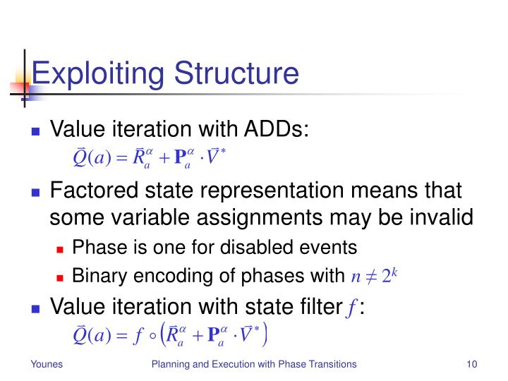 Exploiting Structure