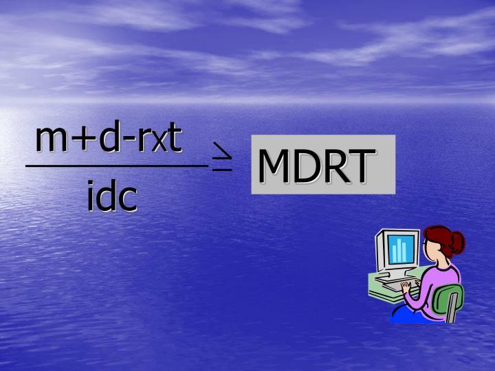 m+d-r