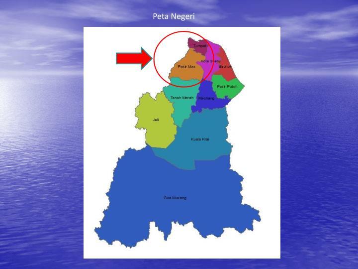 Peta Negeri