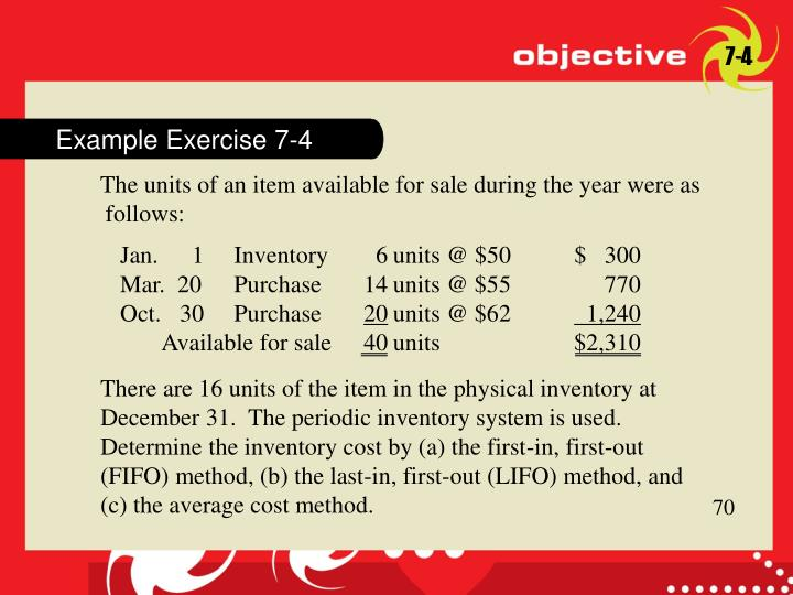 Example Exercise 7-4