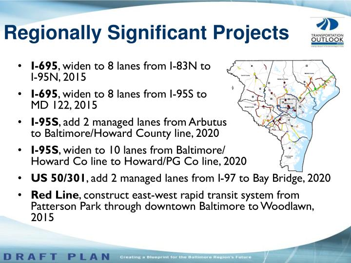 Regionally Significant Projects