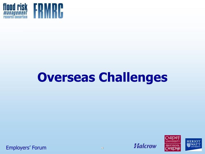 Overseas Challenges