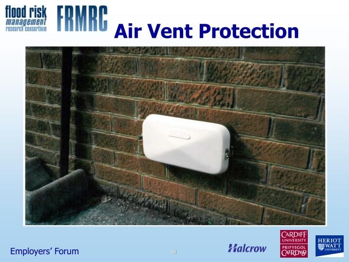 Air Vent Protection