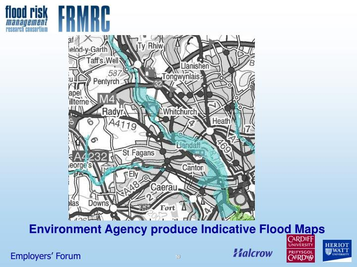 Environment Agency produce Indicative Flood Maps