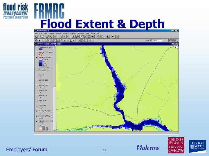 Flood Extent & Depth
