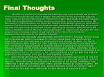 final thoughts1