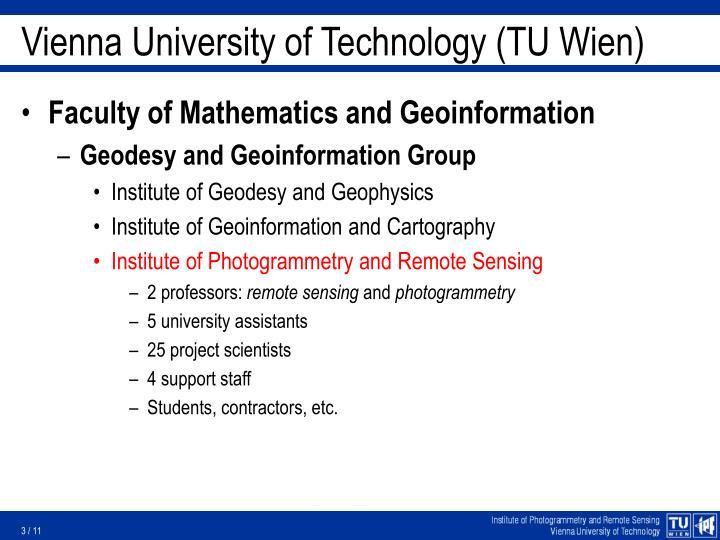 Vienna University of Technology (TU Wien)