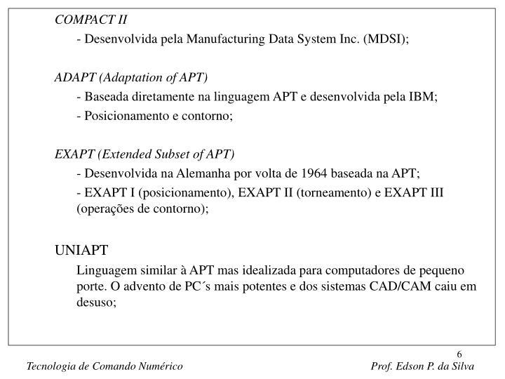 COMPACT II