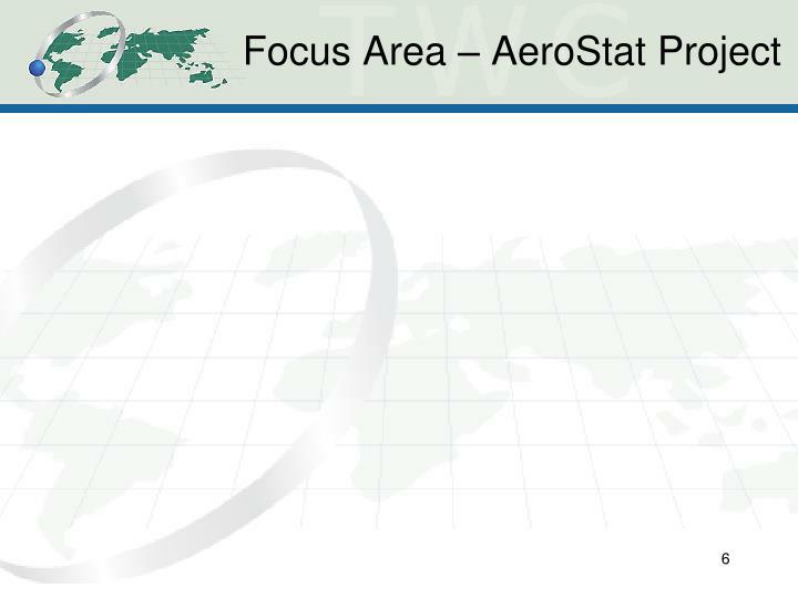 Focus Area – AeroStat Project