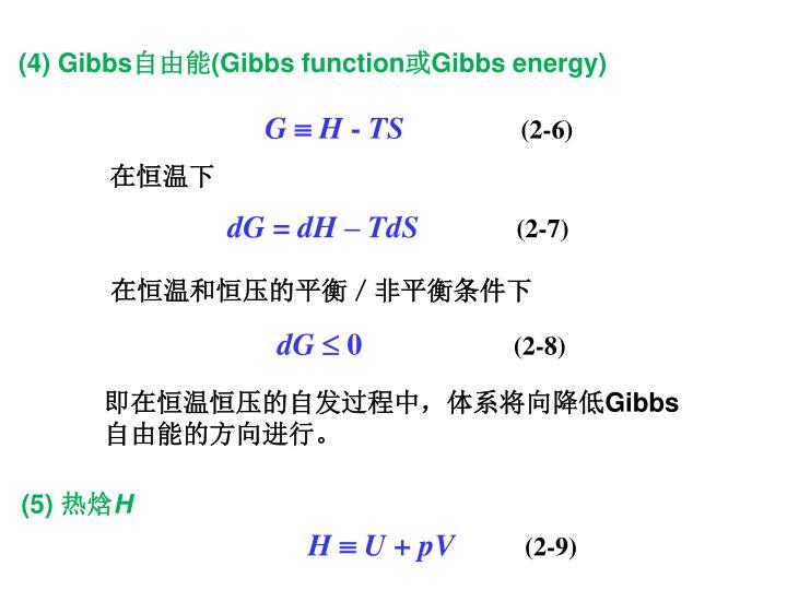 (4) Gibbs