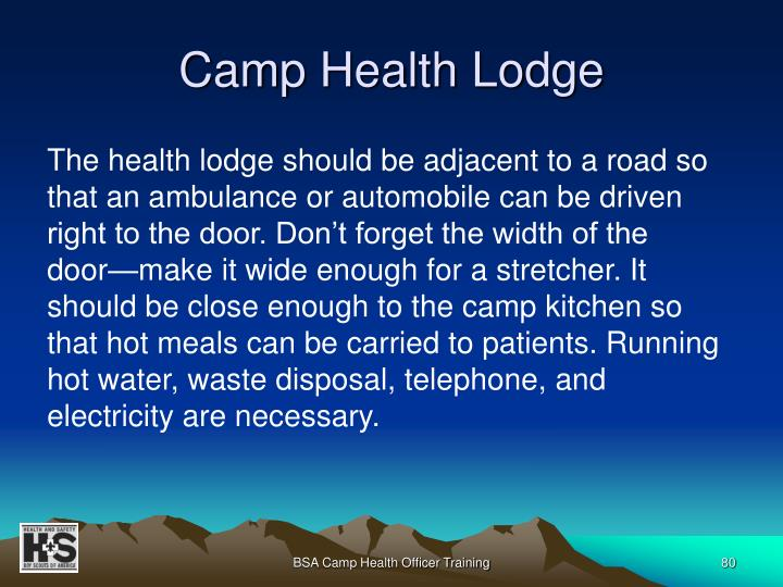 Camp Health Lodge
