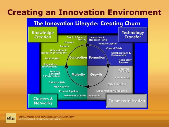 Creating an Innovation Environment
