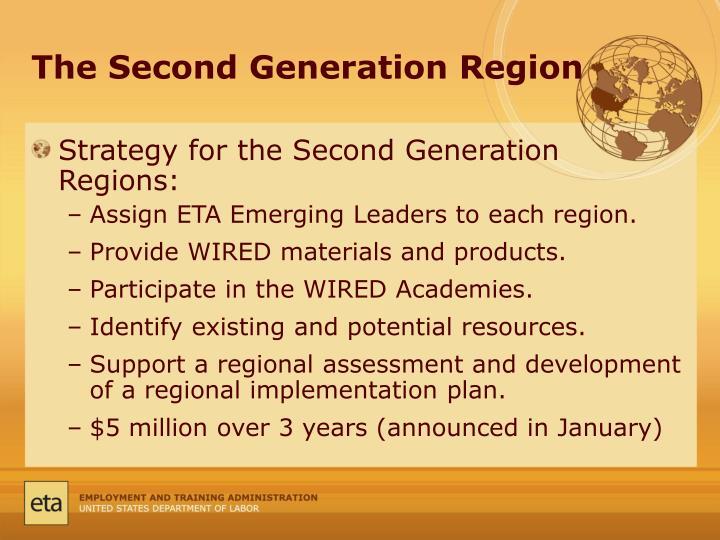 The Second Generation Region