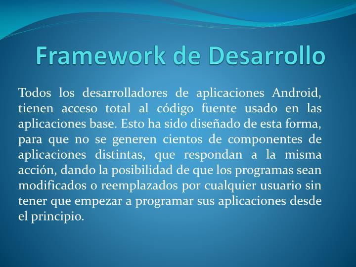 Framework de