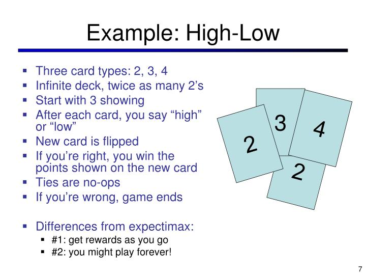 Example: High-Low