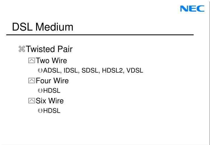 DSL Medium