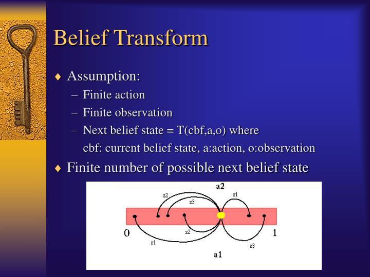 Belief Transform
