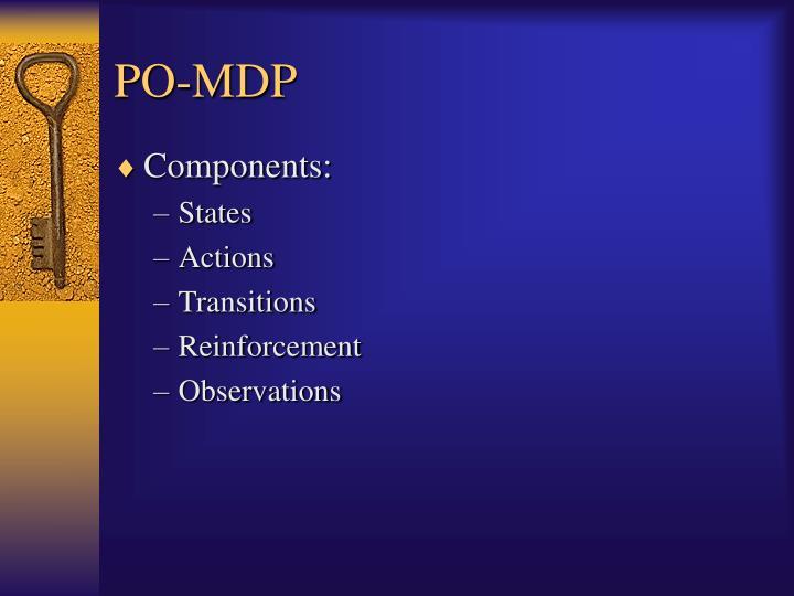 PO-MDP