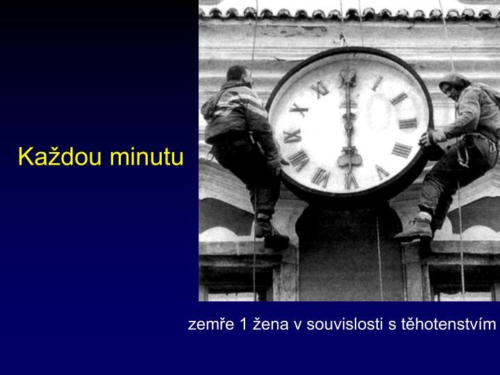 Každou minutu