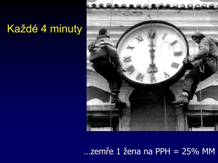 Každé 4 minuty