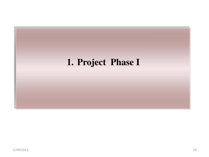 Project  Phase I