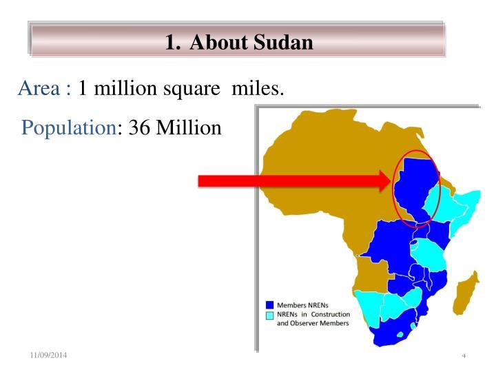 About Sudan