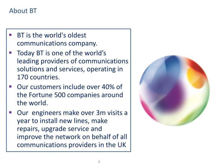 About BT