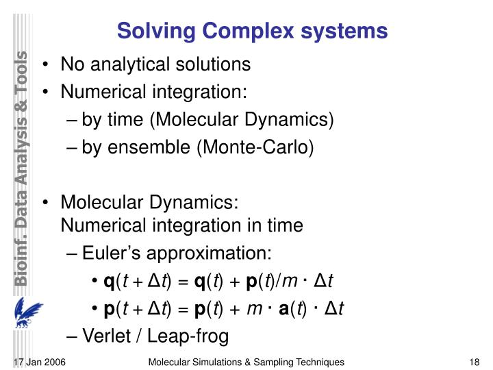 Solving Complex systems