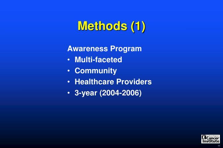 Methods (1)
