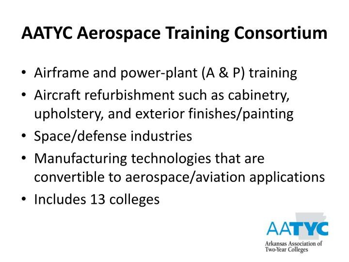 AATYC Aerospace Training Consortium