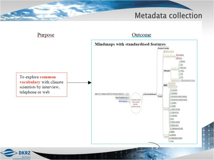 Metadata collection
