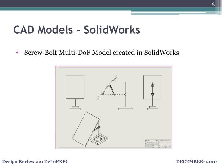 CAD Models –
