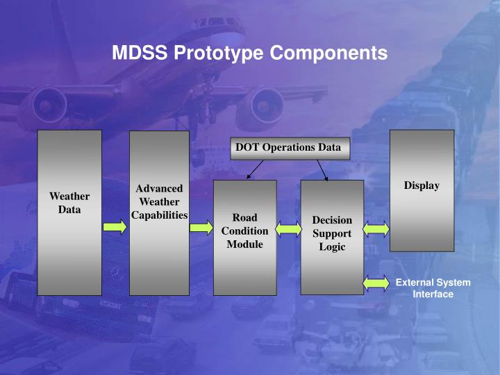 MDSS Prototype Components